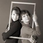 Полина Санаева и Светлана