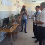 Александр Климов в Эльхотовском техникуме