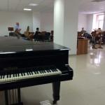 Новое помещение для оркестра народных инструментов