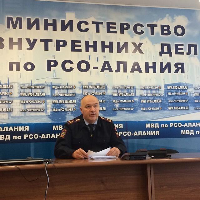 Замначальника полиции СО Сергей Гончаров: