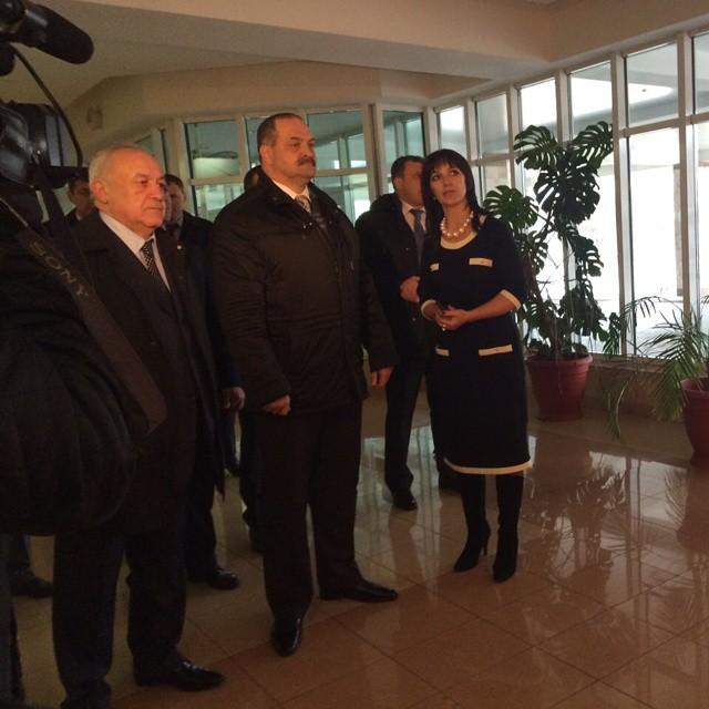 Полпред президента в СКФО Сергей Меликов почтил память погибших в Бесланском теракте сотрудников спецназа
