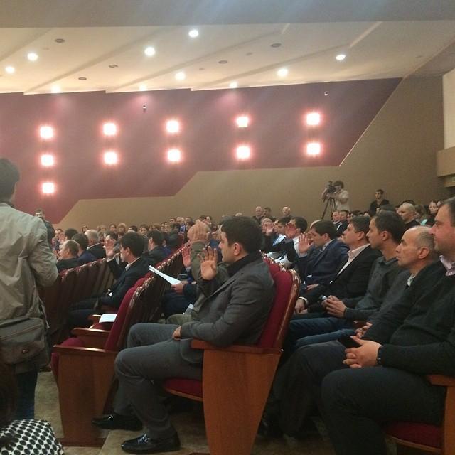 Сергей Дзантиев вновь избран на пост сити-менеджера г.Владикавказ