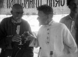 19 кадр. Калинин и Сымырза Гутнов