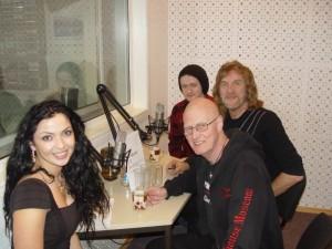 Зарина Каирова и рок-звезды