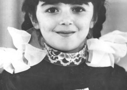 Эльвира Бидеева в детстве