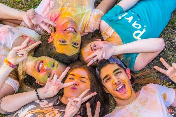 Фестиваль красок «Holi Fest» Во Владикавказе