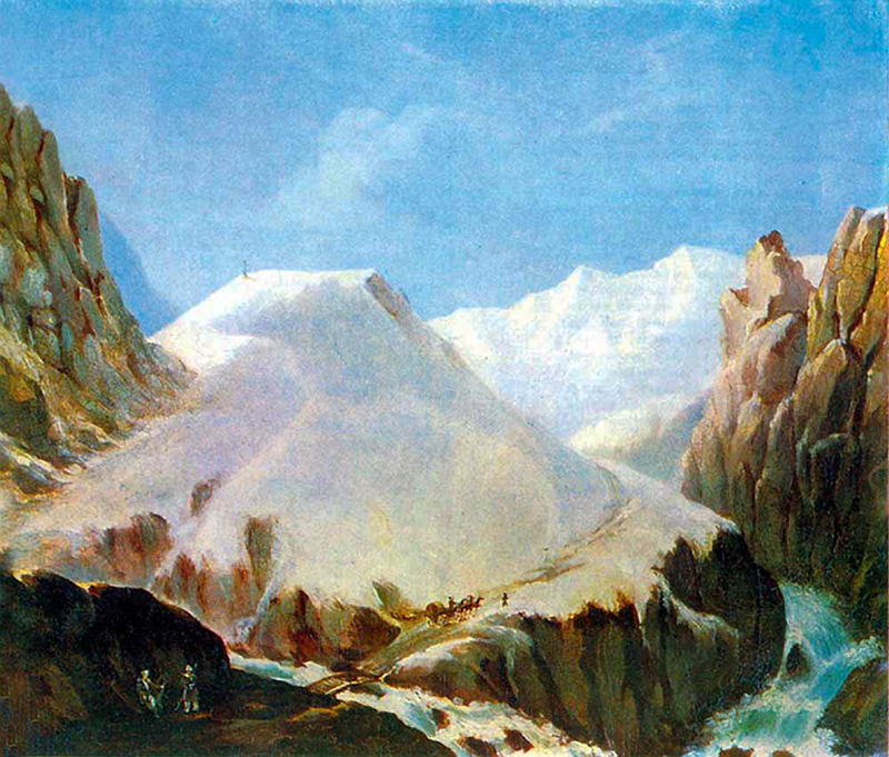 М. Ю. Лермонтов г. Крестовая 1837г.
