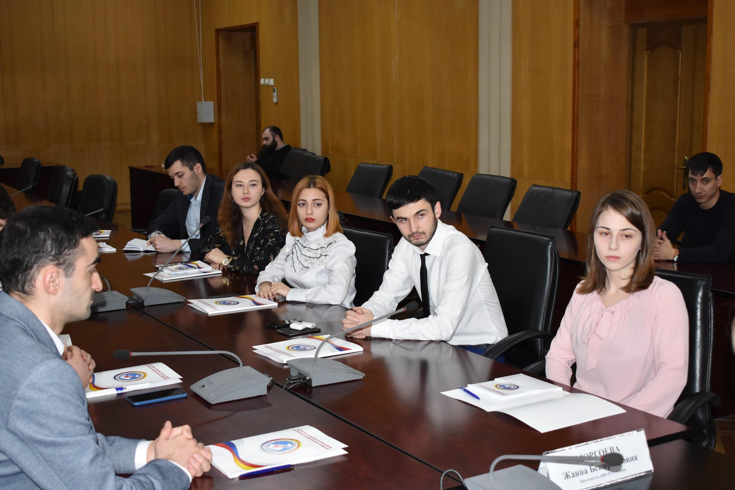 В Северной Осетии назначили членов Молодежной избирательной комиссии